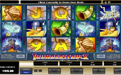Thunderstruck Pokie: Perfect Choice for the Gamblers